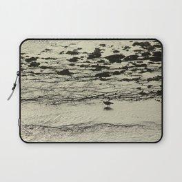 Curlew Wader Bird Rocky Seashore Laptop Sleeve