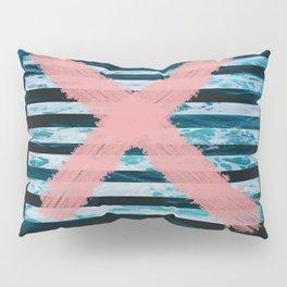 x marks the ocean Pillow Sham