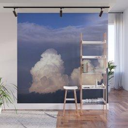 Cloud towers in the Sky -  cumulonimbus Wall Mural
