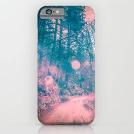 Pink Magical Path iPhone Case