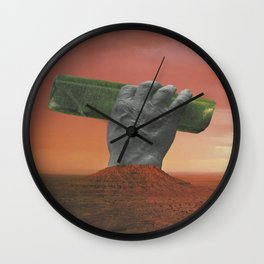 Lost Monument 2 Wall Clock