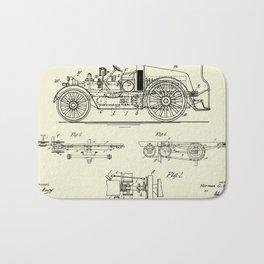 Automobile Fire Apparatus-1916 Bath Mat