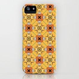 googly eyes pattern iPhone Case