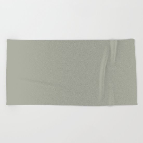 Simply Retro Gray Beach Towel