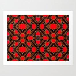 Pattern456k2 Art Print