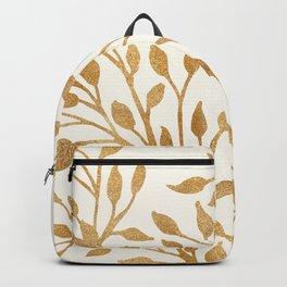 Golden Ficus Tree Backpack