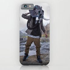 Sneakerhead Elephant Gas Mask by Freehand Profit Slim Case iPhone 6s