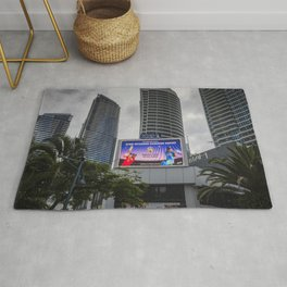 Giant Screen Surfers Paradise Rug