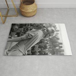 Marylin Monroe and Elvis Presley Framed Print Rug