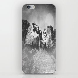 Rushmore at Night iPhone Skin
