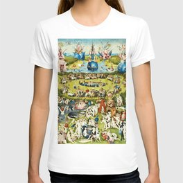 Hieronymus Bosch - The Garden Of Earthly Delights T-shirt