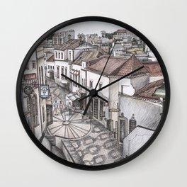 Portugal Market Albufeira Wall Clock