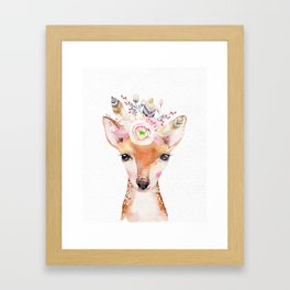 Forest Fawn by Nature Magick Framed Art Print