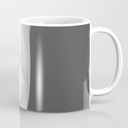 Naked Breast Black and White Coffee Mug