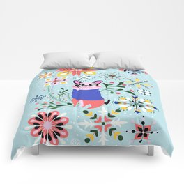 Happy Dog Year Comforters