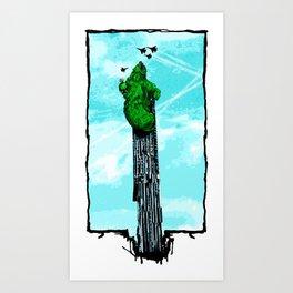 Beetham Tower Art Print
