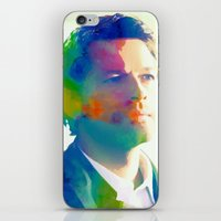 castiel iPhone & iPod Skins featuring Castiel  by mishainmydreams