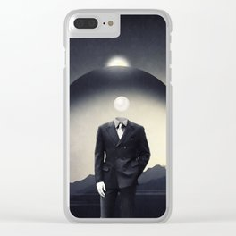 Drifting in uncertainty Clear iPhone Case