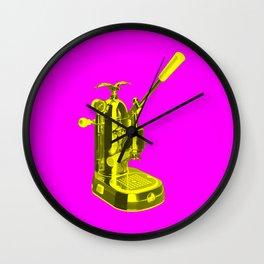 Pop Art La Pavoni Lever Espresso Machine No.1 Wall Clock