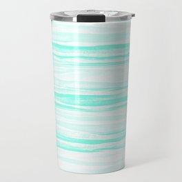 390 2 Crinkled Turquoise Travel Mug