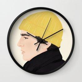 Skam | Jonas Vasquez Wall Clock