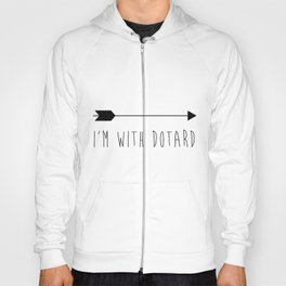 I'm With Dotard Hoody