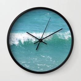 Wave Chalet Wall Clock