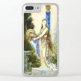 """Gustave Moreau """"Salomé à la colonne (Salome With Column)"""" Clear iPhone Case"""