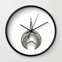 Architecture: Alexanderplatz Wall Clock