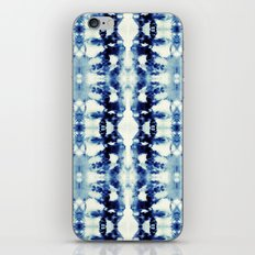 Tie Dye Blues iPhone Skin