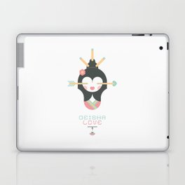 Geisha Love (Japan Contrasts series) Laptop & iPad Skin