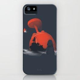 Furi Kuri - Nothing amazing happens here iPhone Case