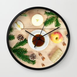 Christmas time Wall Clock