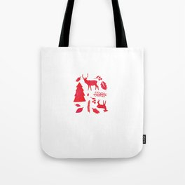 Scandinavian Christmas  Tote Bag