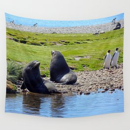 Fur Seals Wall Tapestry