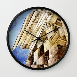 Pieces of Empire Deconstructed Wall Clock
