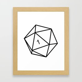 Fumble - Dungeons & Dragons for Dummies Framed Art Print