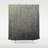 mosaic Shower Curtains featuring Mosaic by David Zydd