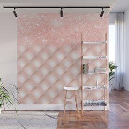 Luxury Rosegold Glitter Pearl Wall Mural