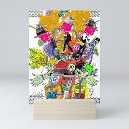 Select Collision Mini Art Print