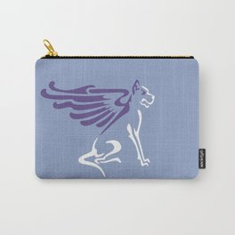 Winged dog Carry-All Pouch