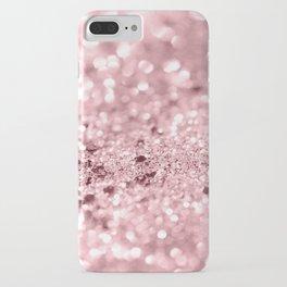 Rose Gold Blush Girls Glitter #1 #shiny #decor #art #society6 iPhone Case