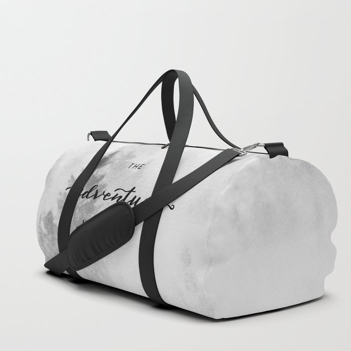 The Adventure Never Ends Duffle Bag