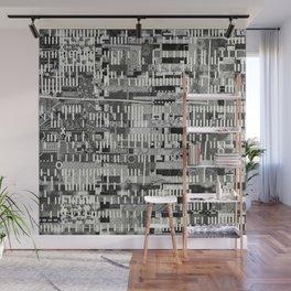 Exploiting Digital Behavior (P/D3 Glitch Collage Studies) Wall Mural
