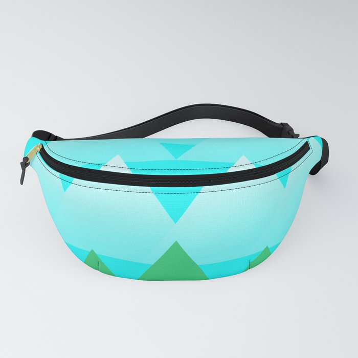 Trees and Mountains Fanny Pack