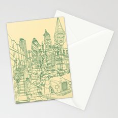 London! Cream Stationery Cards