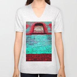 Arched Window Unisex V-Neck