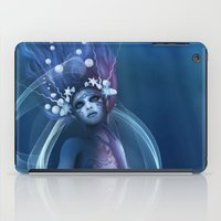 bride iPad Cases featuring  Water Bride by Illu-Pic-A.T.Art