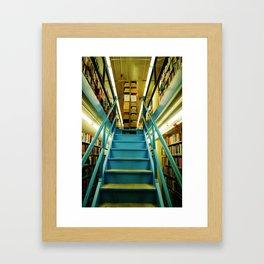 1 1/2 East Framed Art Print