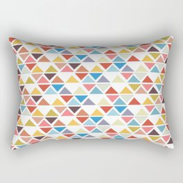 Triangle love Rectangular Pillow